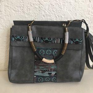 Tribal Print Handbag